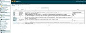 cPanel Configuration Editor