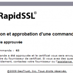RapidSSL: OK